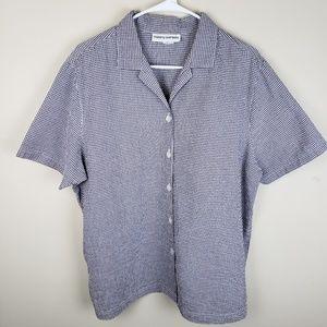 Cathy Daniels | Textured Button Down Shirt